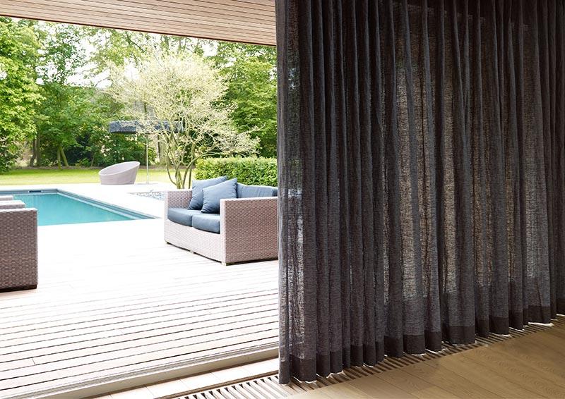 vorhang terrasse wonderful moderne wohnzimmer vorhaenge. Black Bedroom Furniture Sets. Home Design Ideas
